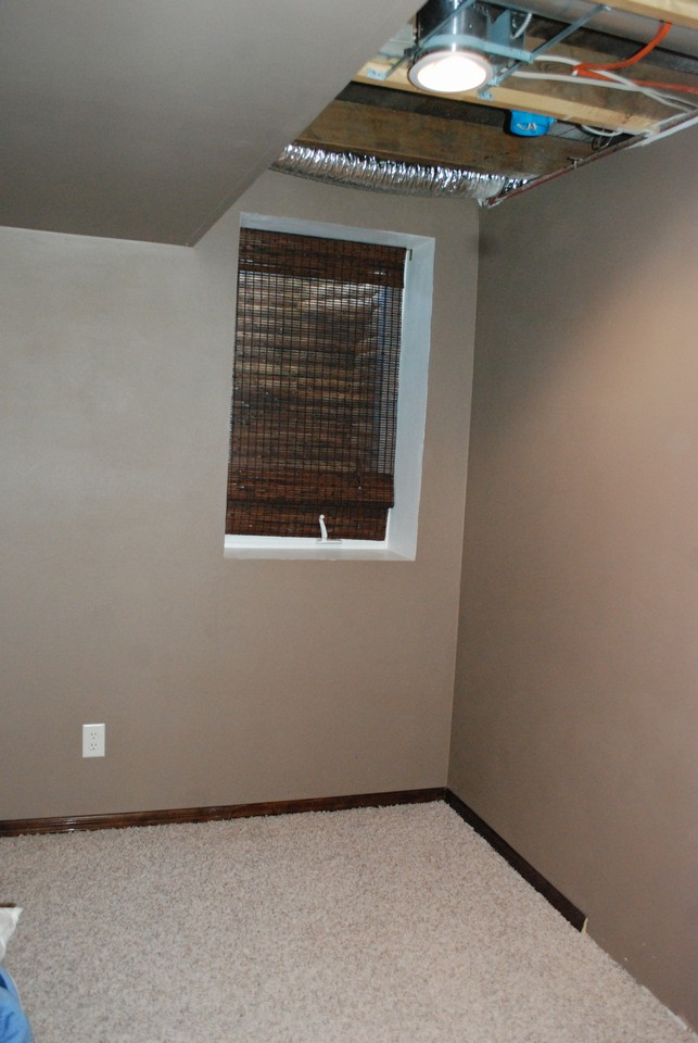 bedroom or office in lower level