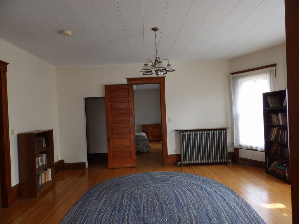 living room area on second floor