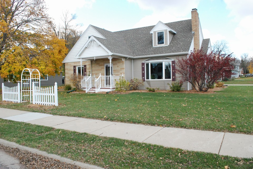 very nice 3 bedroom home on a corner lot w/ a private backyard.
