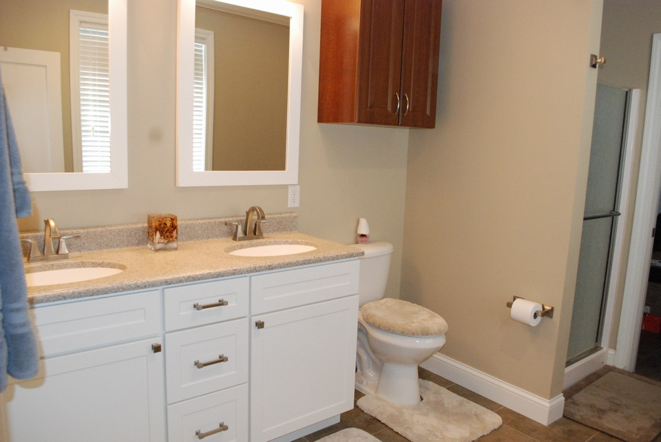 double sinks in master suite