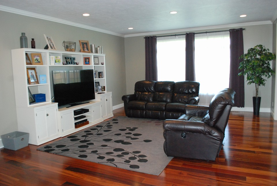 open living room area