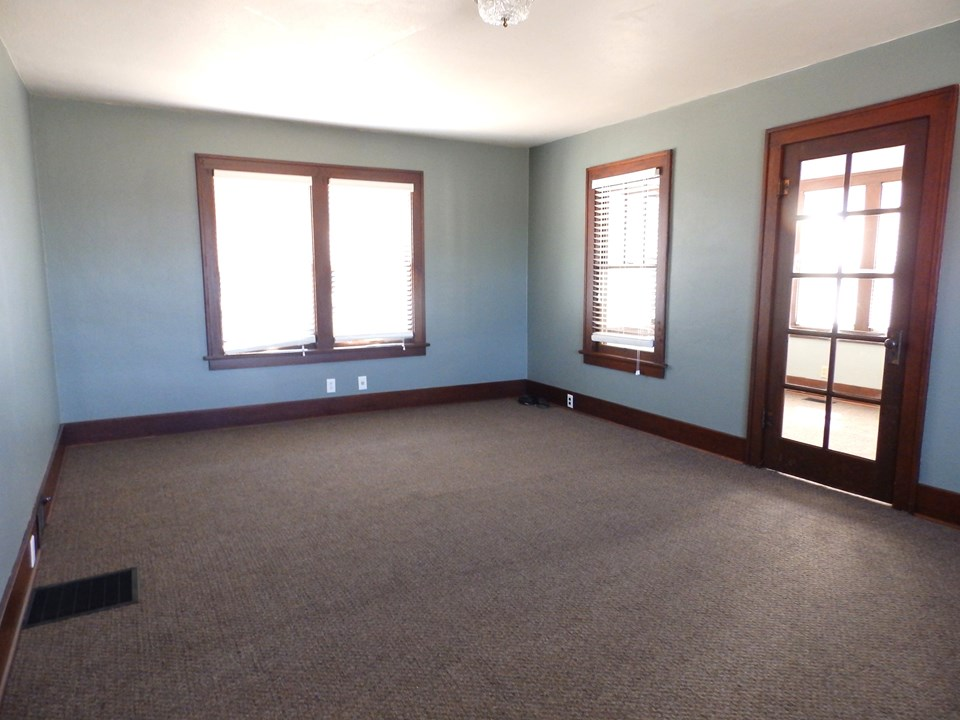 living room looking to front porch