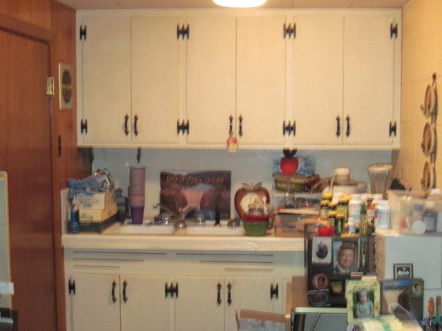 lower level kitchenette