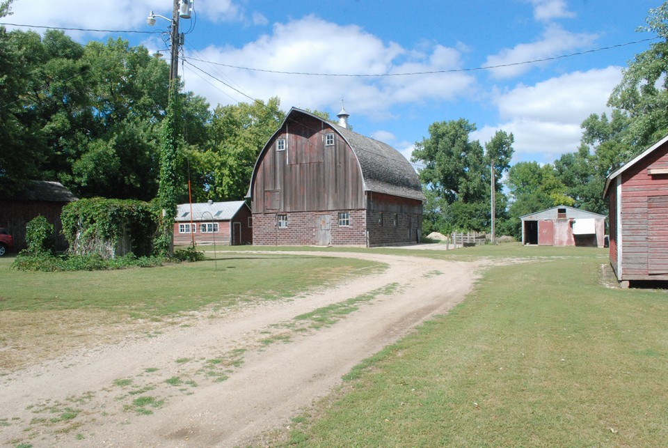 barn and buildings
